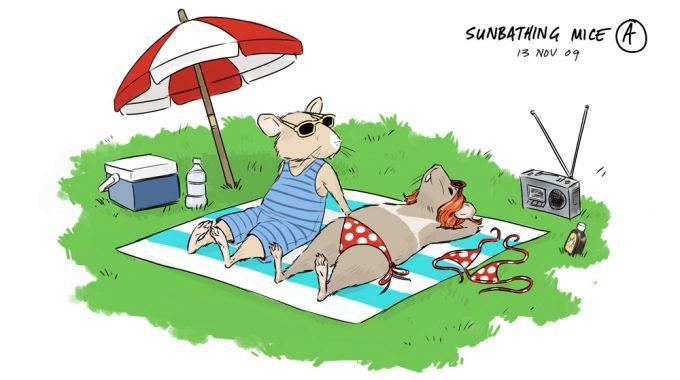SunbathingMice A1