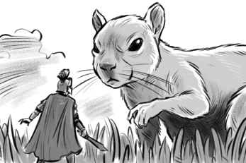 """NIGHT AT THE MUSEUM 2: """"Squirrel Sequence"""""""