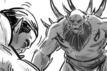 WARCRAFT: Durotan Vs. Gul'Dan Fight (Part II)